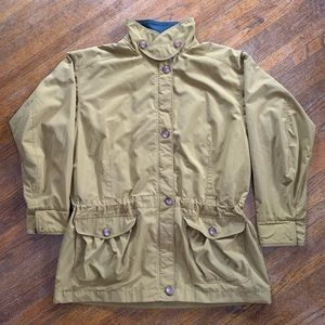 VTG Patagonia Long Button-Front Coat Khaki Size L